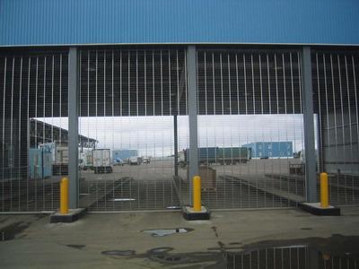 Автоматические ворота консольного