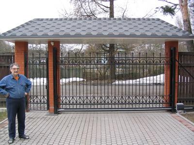 Вариант ворот для частных домов распашные въздные ворота откатный распашные н новгород